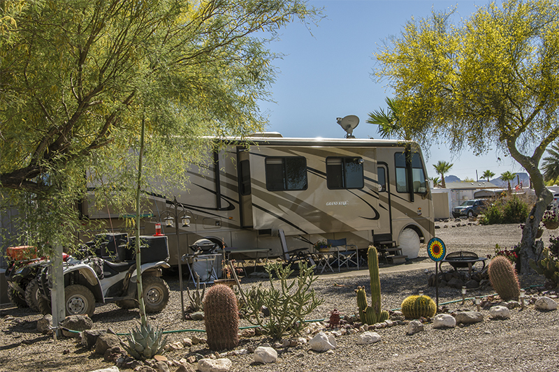 Black Rock RV Village - Motorhome