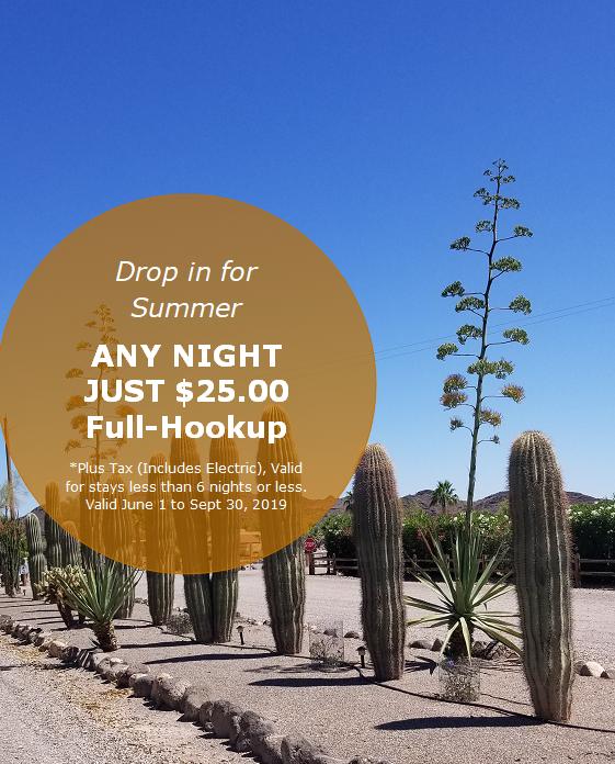 Black Rock RV Village   RV Park in Salome, AZ 85348