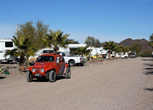 Black Rock RV Village - Headed for a ride