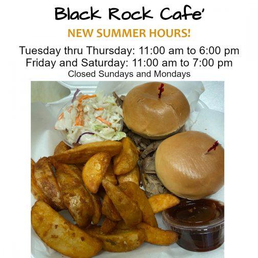 Black Rock RV - Cafe Summer Hours